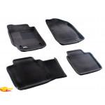 Трехслойные коврики Sotra 3D Premium 12mm Grey для Toyota Camry (XV40) 2007-2011
