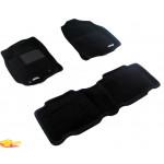 Трехслойные коврики Sotra 3D Premium 12mm Black для Toyota RAV4 (mkIV) 2013->