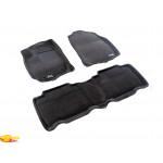 Трехслойные коврики Sotra 3D Premium 12mm Grey для Toyota RAV4 (mkIV) 2013->