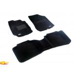 Трехслойные коврики Sotra 3D Premium 12mm Black для Toyota Venza 2013->