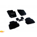 Трехслойные коврики Sotra 3D Classic 8mm Black для Volkswagen Polo (mkV) 2009->