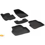 Трехслойные коврики Sotra 3D Premium 12mm Grey для Volkswagen Passat (B7) 2011->