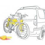Разделитель AutoMaxi 330560 Bike Protect 1