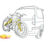 Разделитель AutoMaxi 330570 Bike Protect 2