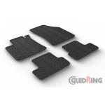 Резиновые коврики Gledring для Renault Megane (mkIV) 2016> manual