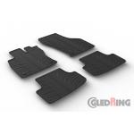 Резиновые коврики Gledring для Golf (5 dr hatch)(VII) 2012> manual / Leon (5 dr hatch)(III) 2013>
