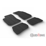 Резиновые коврики Gledring для Volkswagen Passat  (B5) 1998-2005
