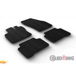 Резиновые коврики Gledring для Volkswagen Touran (mkII) 2015-> manual