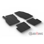 Резиновые коврики Gledring для Opel Corsa E (5 door) 2014>