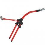 Устройство для буксировки детского велосипеда в сборе Peruzzo 300R Trail Angel (Red)