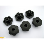 Ручки пластиковые Peruzzo 915 Six Plastic Knobs