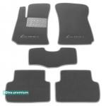 Двухслойные коврики Daewoo Lanos 1997> - Premium 10mm Grey Sotra