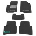 Двухслойные коврики Hyundai Accent / Solaris (седан)(mkIV) 2011> - Classic 7mm Grey Sotra