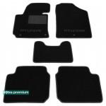 Двухслойные коврики Hyundai Elantra (MD)(mkV) 2010> - Premium 10mm Black Sotra