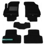Двухслойные коврики Chevrolet Orlando (1-2 ряд) 2011> - Premium 10mm Black Sotra