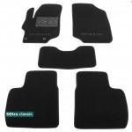 Двухслойные коврики Peugeot 301 2012→ - Classic 7mm Black Sotra