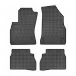 Резиновые коврики Frogum для Fiat Doblo (mkII)(1-2 ряд) 2008->; Opel Combo D (mkIV)(1-2 ряд) 2011-2018