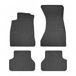 Резиновые коврики для Audi A4 (B9) 2015-> Frogum