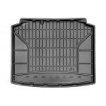 Резиновый коврикдля Skoda Rapid (хетчбек)(mkI) 2012-> (без доп. грузовой полкой)  Frogum