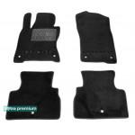 Двухслойные коврики Sotra Premium 10mm Black для Infiniti Q60 (mkI) 2016>