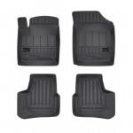 Резиновые коврики Proline 3D для Volkswagen Up!; Seat Mii; Skoda Citigo (mkI) 2011→ Frogum