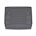 Резиновый коврик в багажник дляPeugeot 5008 (mkI) 2009-2017 (без доп. грузовой полки)(багажник) Frogum