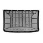 Резиновый коврик в багажникдля Renault Clio (3дв.)(mkIV) 2012→ (без доп. грузовой полки)  Frogum