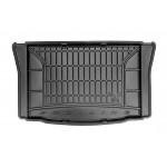 Резиновый коврик в багажник для Volkswagen Up!; Seat Mii; Skoda Citigo 2012→ (нижняя полка)(багажник) Frogum
