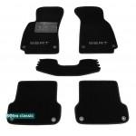 Двухслойные коврики для Seat Exeo (mkI) 2008-2013 7mm Black Sotra Classic