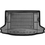 Гумовий килимок в багажник Frogum для Subaru XV (mkI) 2011-2017 (без доп. Вантажний полки) (з запаскою) (багажник)