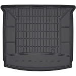 Резиновый коврик в багажникFrogum для Seat Tarraco (mkI) 2018→ (без двухуровневого пола)(сложенный 3 ряд)