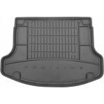 Резиновый коврик в багажникFrogum для Hyundai i30 (лифтбек)(mkIII) 2017→ (без двухуровневого пола)(с органайзером)