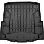 Резиновый коврик в багажникFrogum для Skoda Superb (седан)(mkII) 2008-2015 (с запаской)