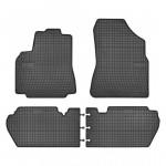Резиновые коврики для Citroen Berlingo (mkII)(1-2 ряд); Peugeot Partner (mkII)(1-2 ряд) 2008-2018 Frogum