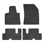Резиновые коврики для Citroen C4 Picasso (mkII)(1-2 ряд) 2013-> Frogum