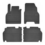 Резиновые коврики Renault Kangoo (mkII)(1-2 ряд) 2008-> Frogum