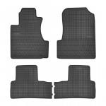 Резиновые коврики для Honda CR-V (mkIII) 2006-2012 Frogum