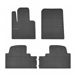 Резиновые коврики для Hyundai Santa Fe (mkIII)(1-2 ряд); Kia Sorento (mkIII)(1-2 ряд) 2015-> Frogum