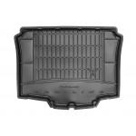 Резиновый коврикSeat Ibiza (купе)(mkIV) 2008-2017 (без доп. грузовой полкой)(багажник) Frogum