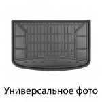 Резиновый коврикSkoda Fabia (универсал)(mkII) 2014-> (без доп. грузовой полкой)(багажник) Frogum