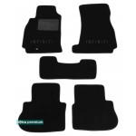 Двухслойные коврики Infiniti FX (S50) 2004-2008 - Premium 10mm Black Sotra