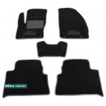 Двухслойные коврики Sotra Classic 7mm Black для Ford C-Max (mkI) 2003-2010