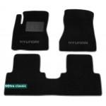 Двухслойные коврики Sotra Classic 7mm Black для Hyundai Tucson (JM) 2004-2014