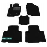Двухслойные коврики Toyota RAV4 (long)(XA30)(mkIII) 2005-2012 - Classic 7mm Black Sotra