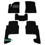 Двухслойные коврики Sotra Classic 7mm Black для Hyundai Santa Fe (1-2 ряд)(CM)(mkII) 2006-2009