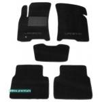 Двухслойные коврики Chevrolet Lacetti 2004-2011 - Premium 10mm Black Sotra