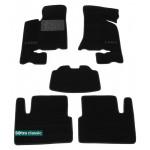 Двухслойные коврики Lada 2170 Priora 2007> - Classic 7mm Black Sotra