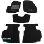 Двухслойные коврики Ford Mondeo (mkIII) 2007-2011 - Classic 7mm Black Sotra