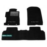 Двухслойные коврики Sotra Classic 7mm Black для Honda Civic JP (седан)(mkVIII) 2005-2011