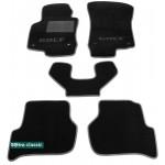Двухслойные коврики Sotra Classic 7mm Black для Volkswagen Golf (mkV) 2006-2009